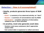 detection how is it accomplished12