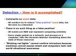 detection how is it accomplished16