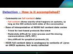 detection how is it accomplished20