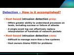 detection how is it accomplished23