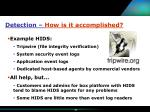 detection how is it accomplished24