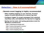 detection how is it accomplished25