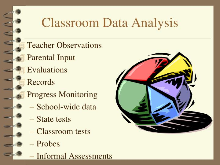 Classroom Data Analysis