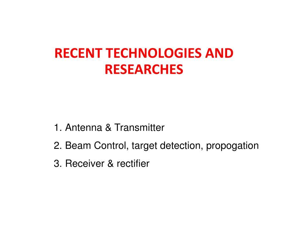 Antenna & Transmitter