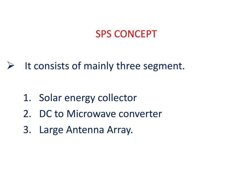 SPS CONCEPT