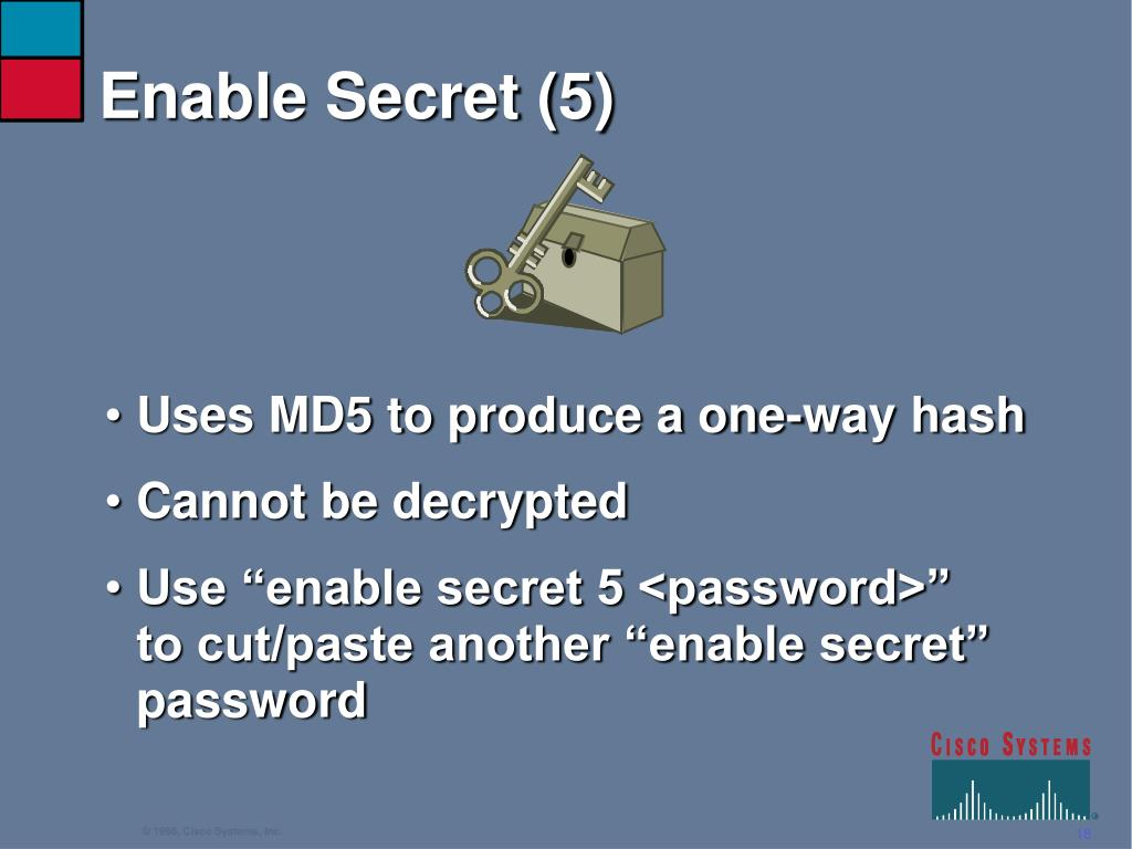 Enable Secret (5)