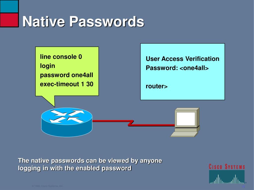 Native Passwords