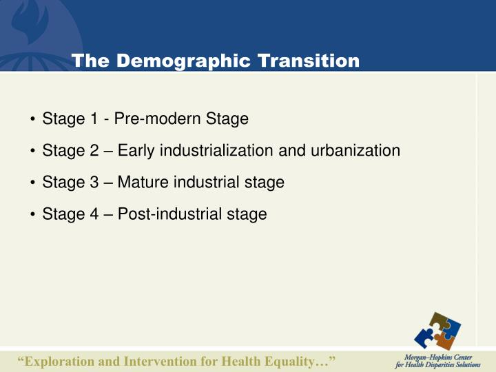 The Demographic Transition