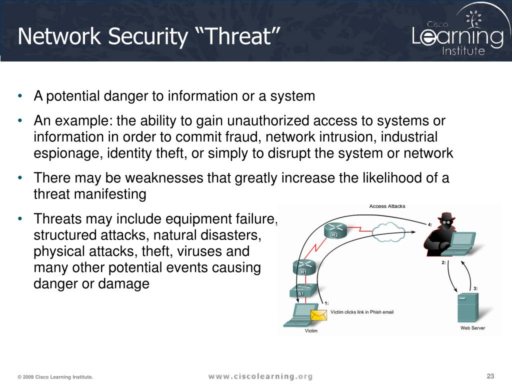 """Network Security """"Threat"""""""