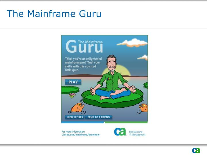 The Mainframe Guru