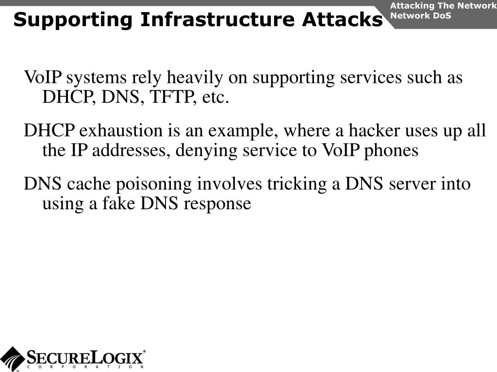 Attacking The Network