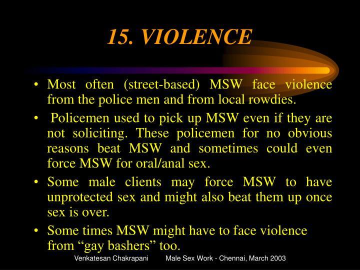 15. VIOLENCE
