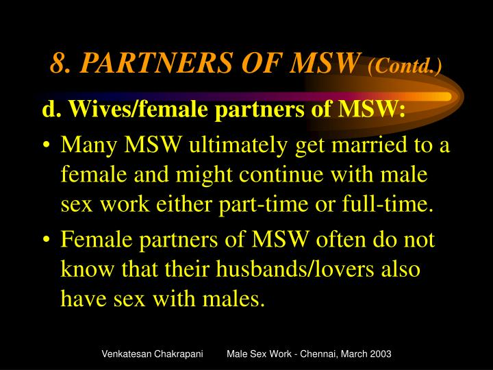 8. PARTNERS OF MSW