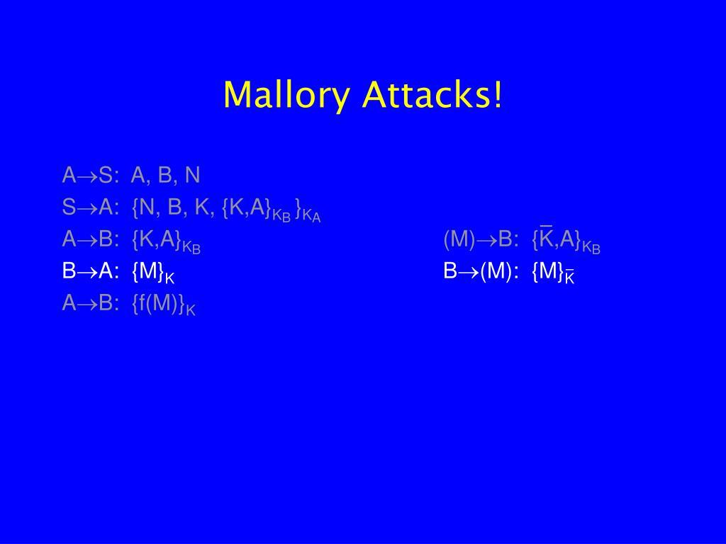 Mallory Attacks!