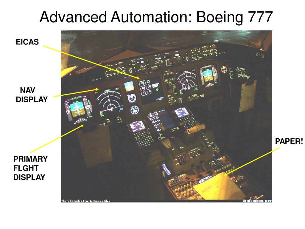 Advanced Automation: Boeing 777