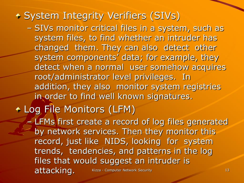 System Integrity Verifiers (SIVs)