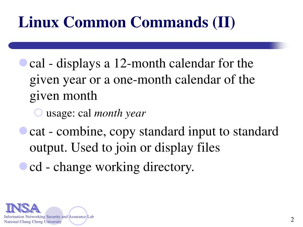 Linux Common Commands (II)