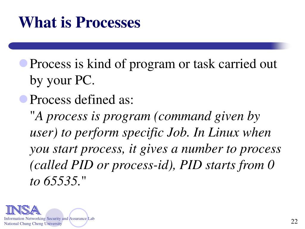 What is Processes