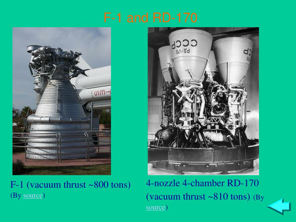 F-1 and RD-170