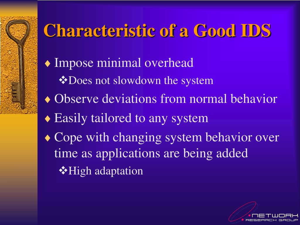 Characteristic of a Good IDS