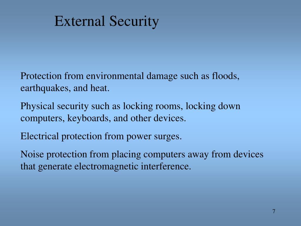 External Security