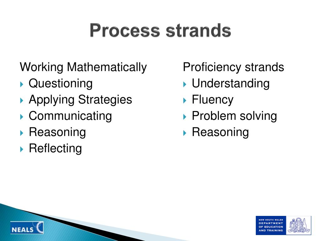 Process strands