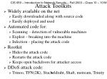attack toolkits
