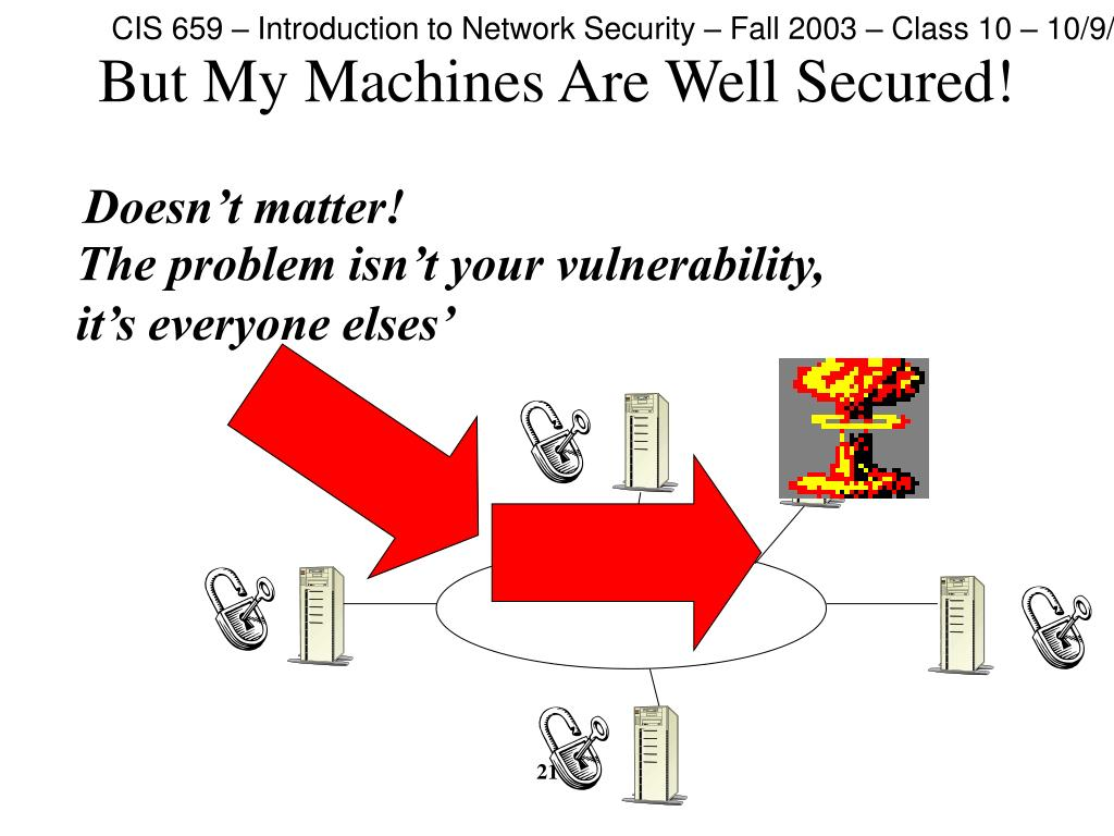 But My Machines Are Well Secured!