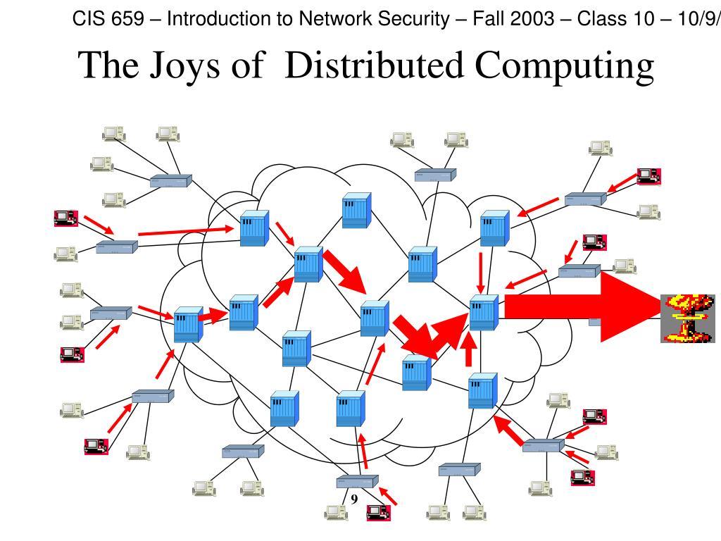 The Joys of  Distributed Computing