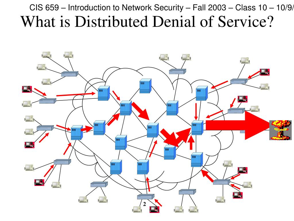 What is Distributed Denial of Service?