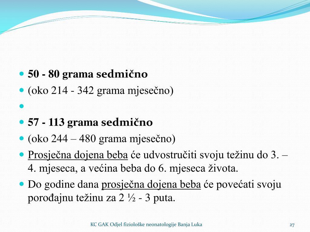 50 - 80 grama