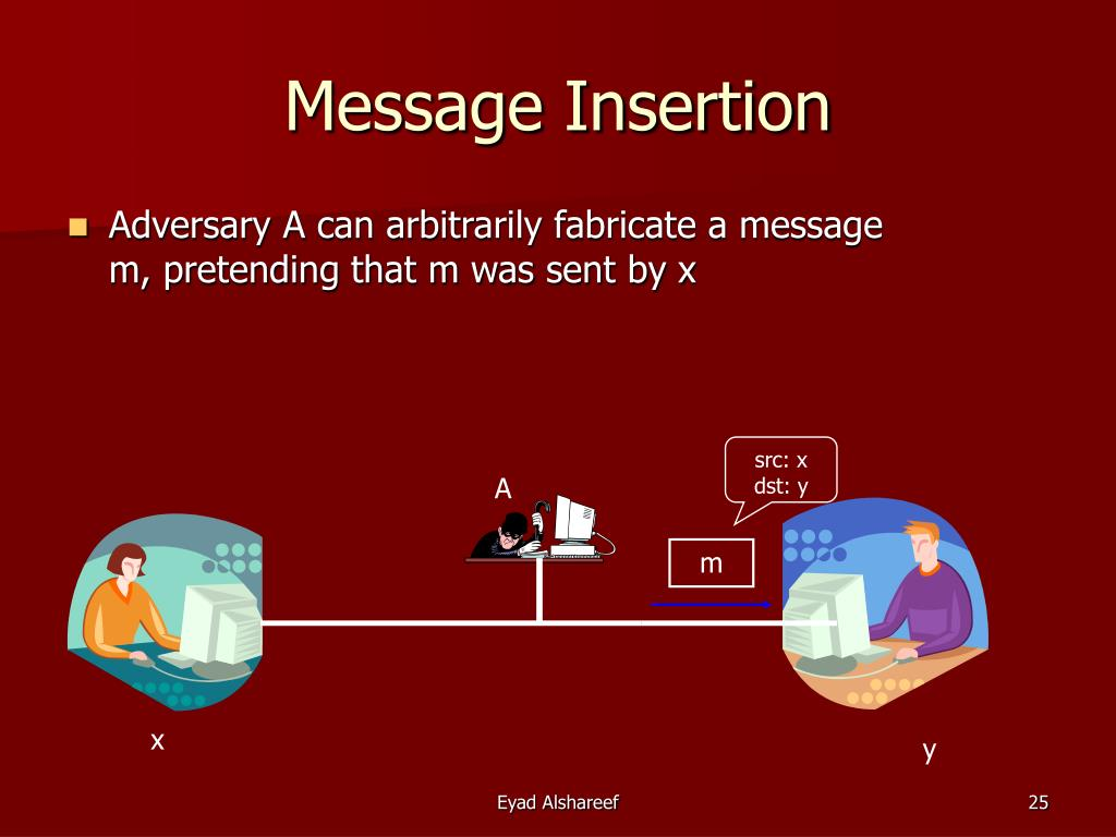 Message Insertion