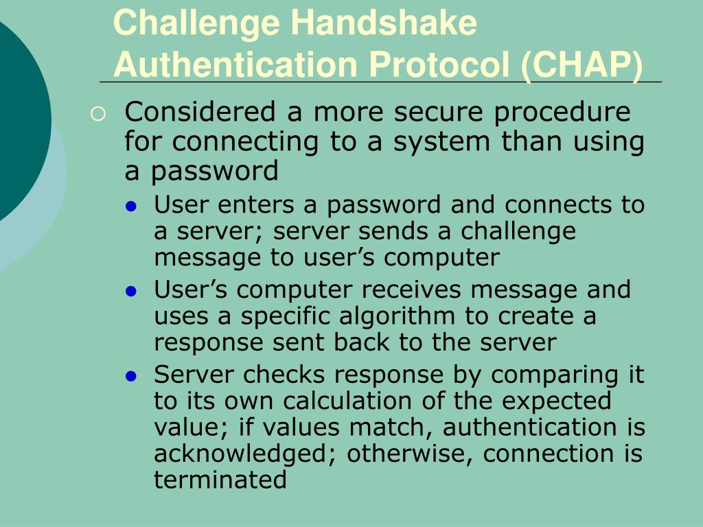 Challenge Handshake