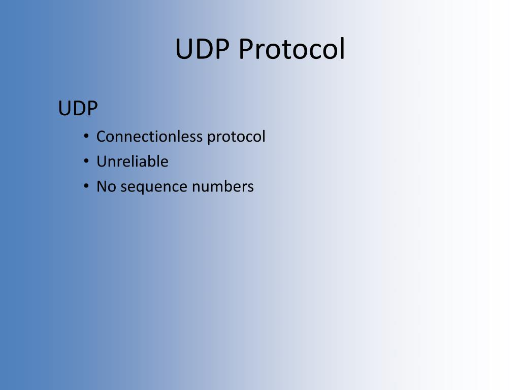 UDP Protocol
