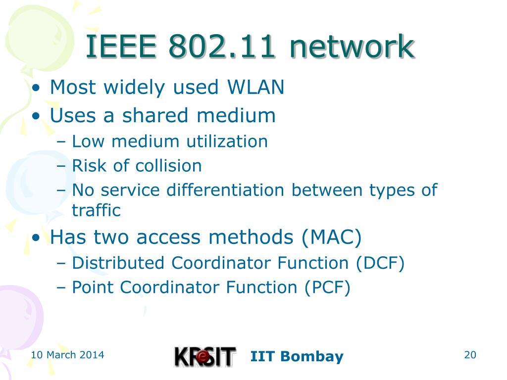 IEEE 802.11 network