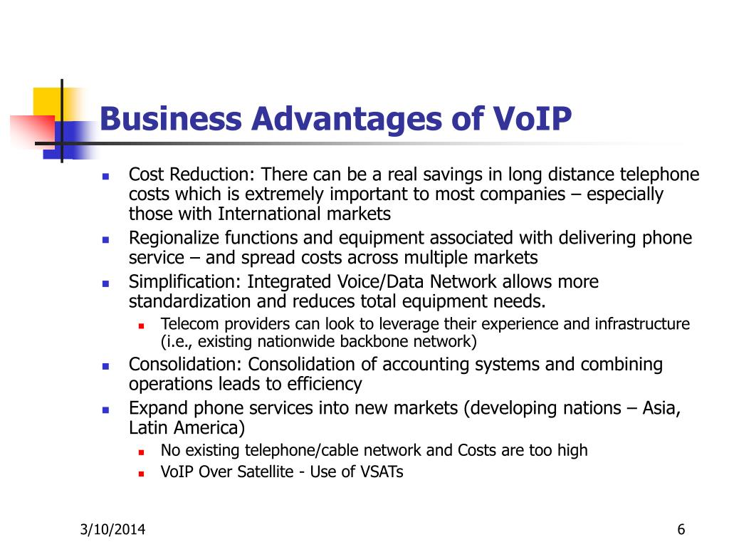 Business Advantages of VoIP