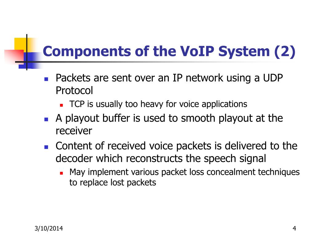 Components of the VoIP System (2)