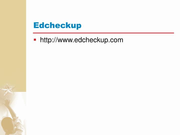 Edcheckup