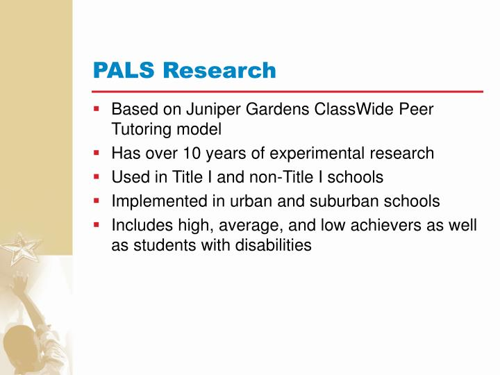 PALS Research
