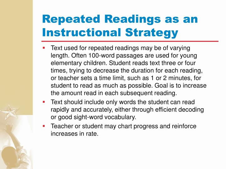 Repeated Readings as an Instructional Strategy