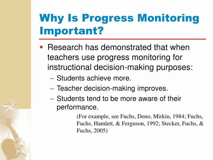 Why Is Progress Monitoring Important?