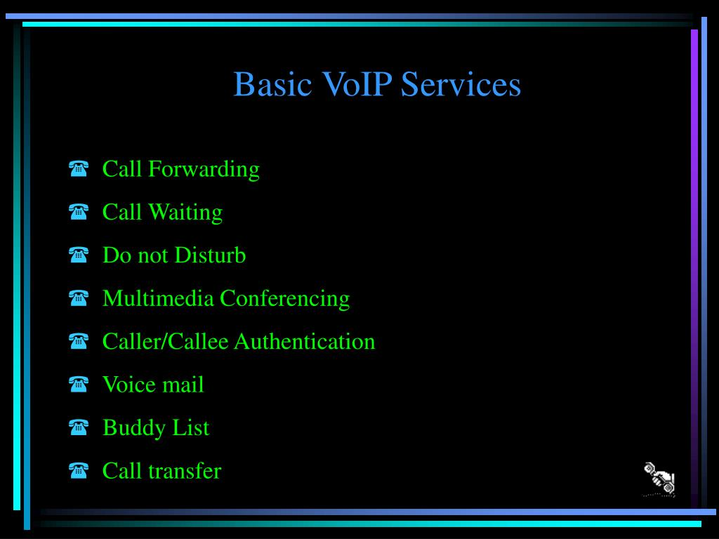 Basic VoIP Services