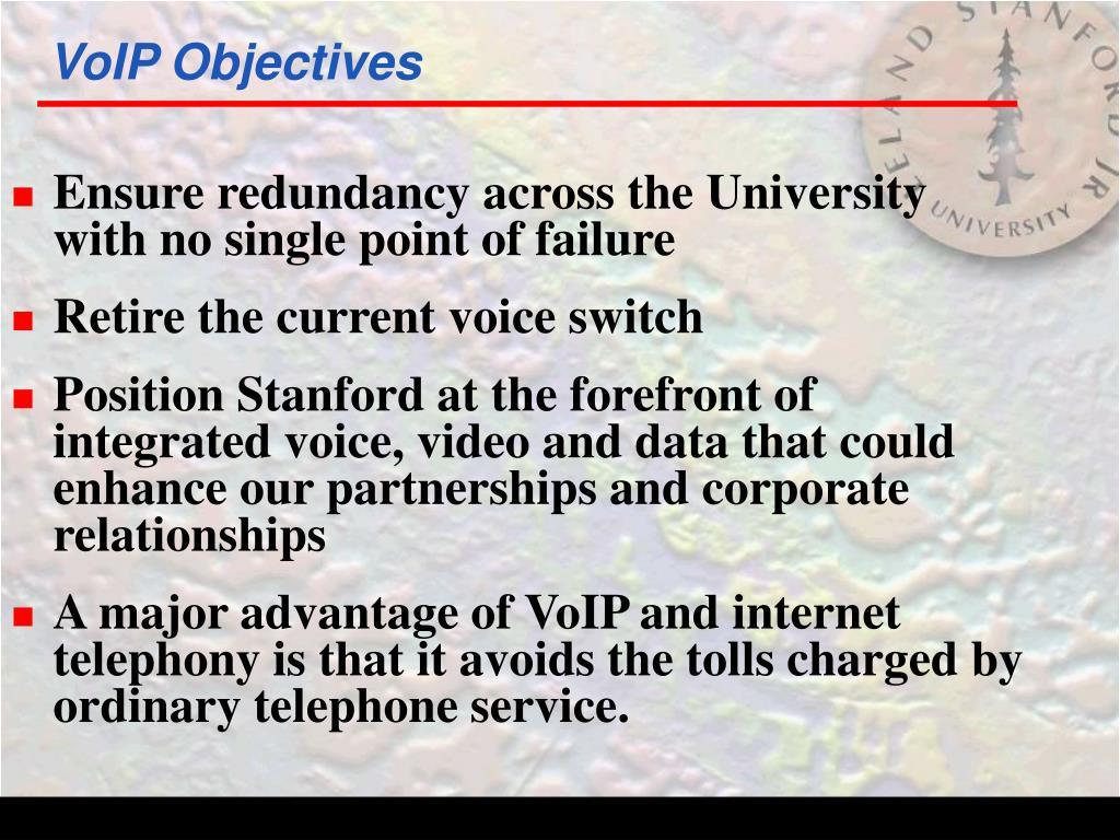 VoIP Objectives