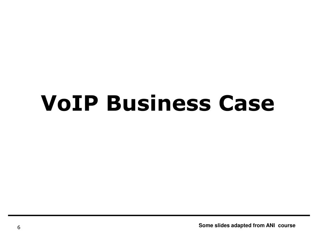 VoIP Business Case