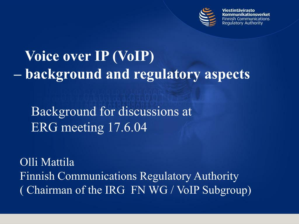 Voice over IP (VoIP)