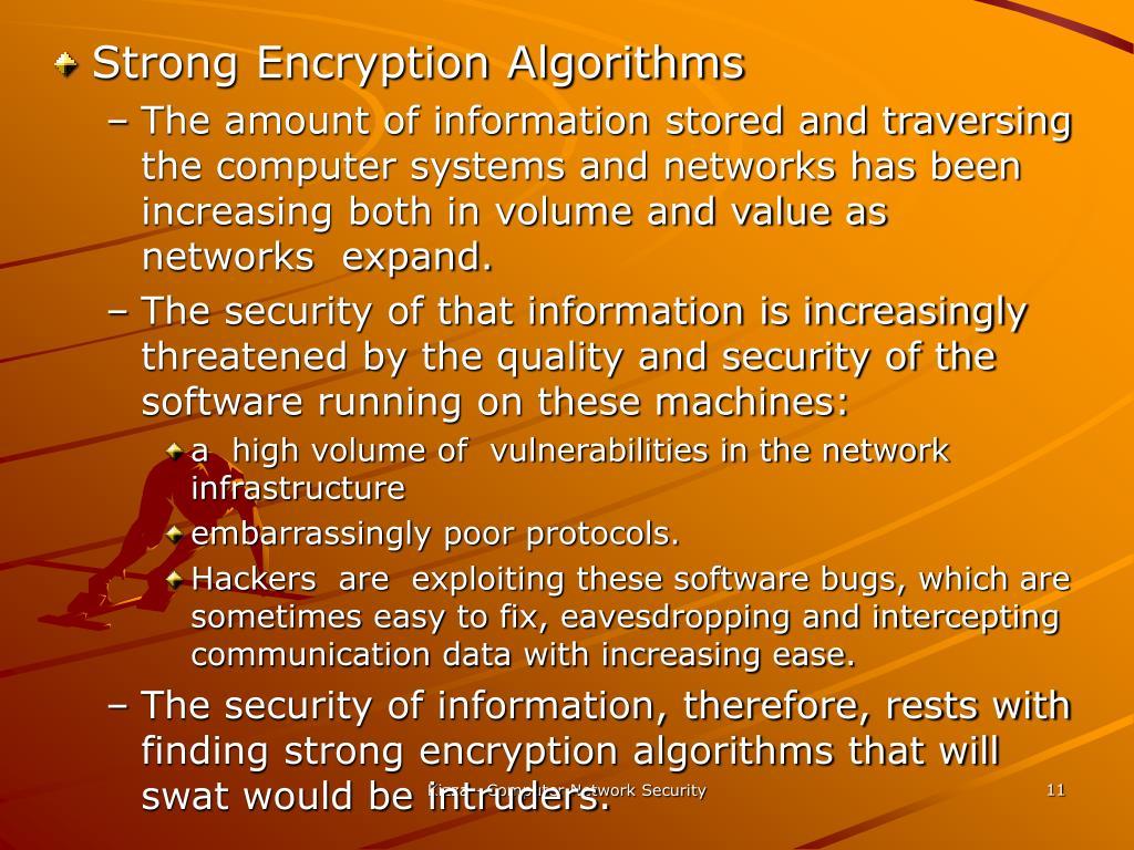 Strong Encryption Algorithms