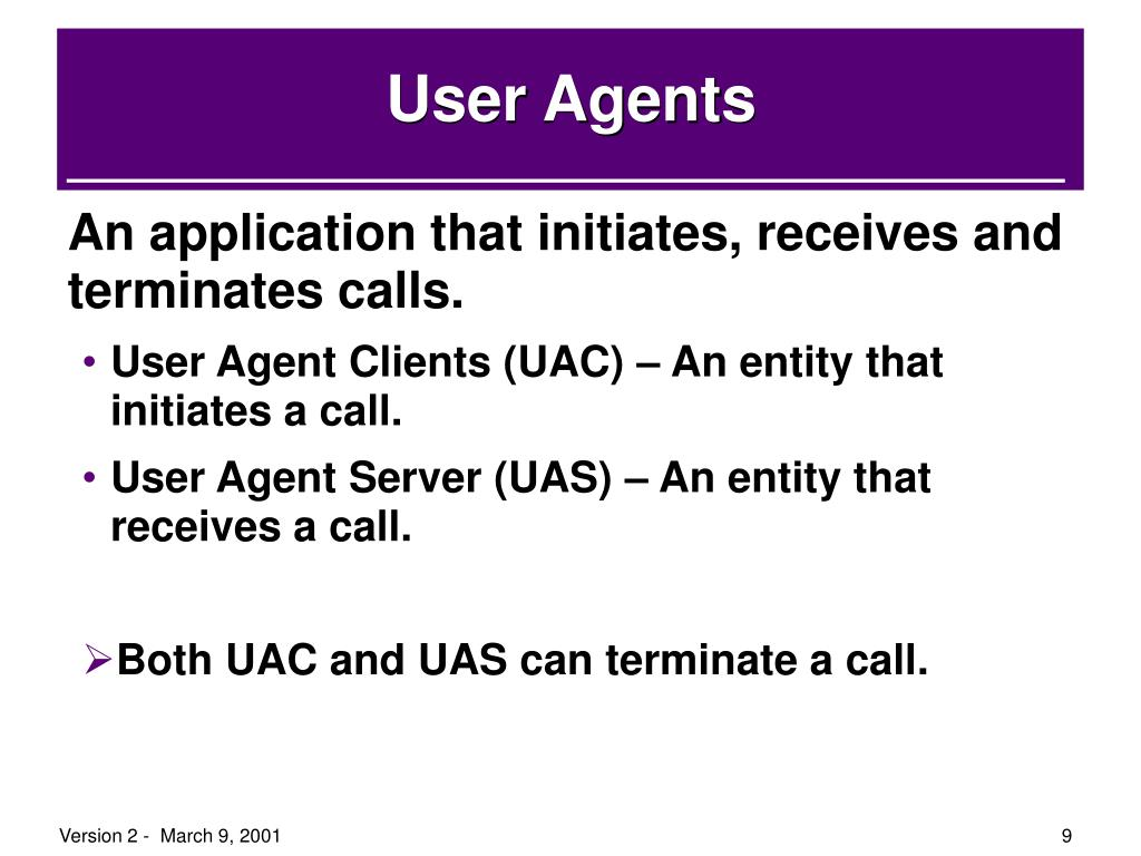 User Agents