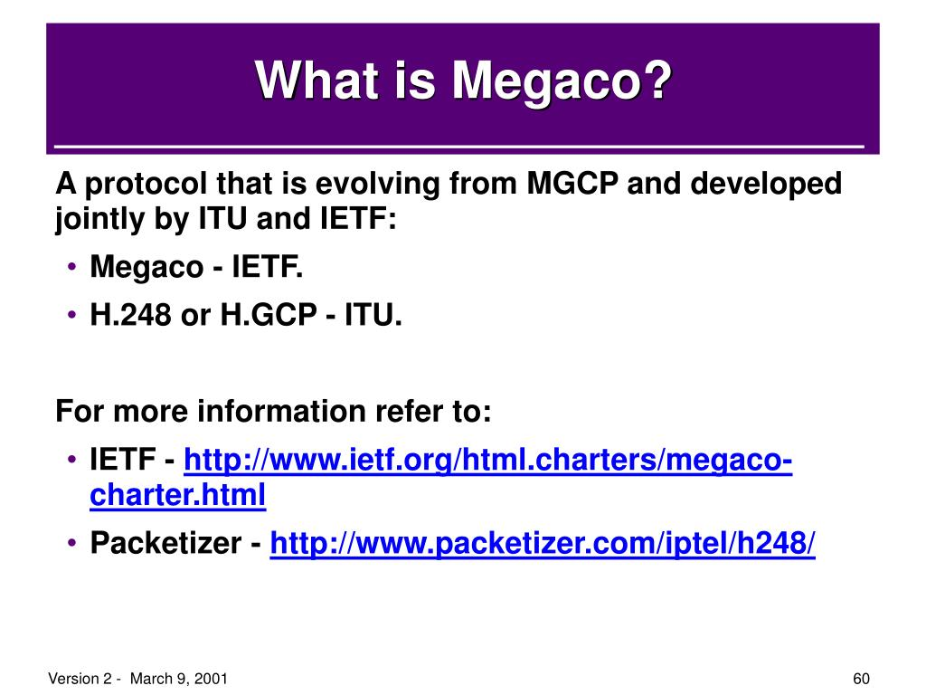 What is Megaco?