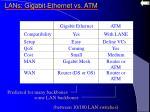 lans gigabit ethernet vs atm16