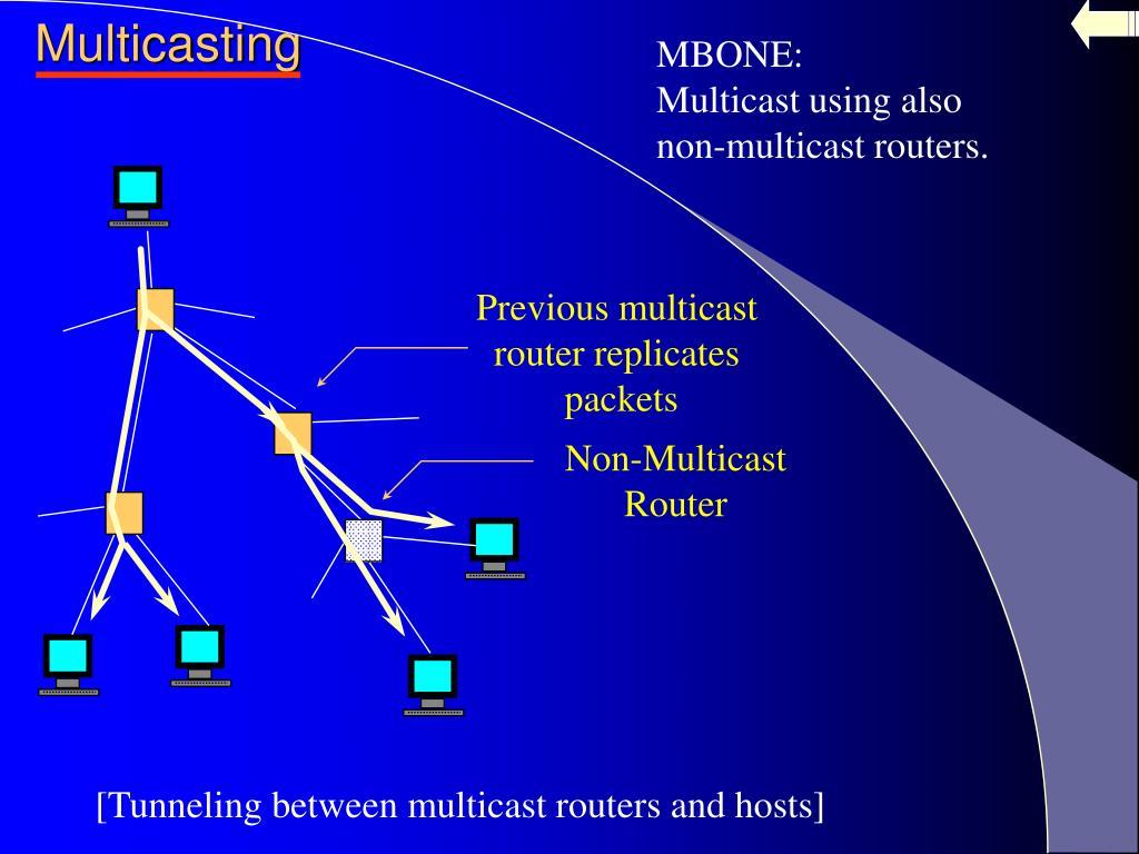 Previous multicast